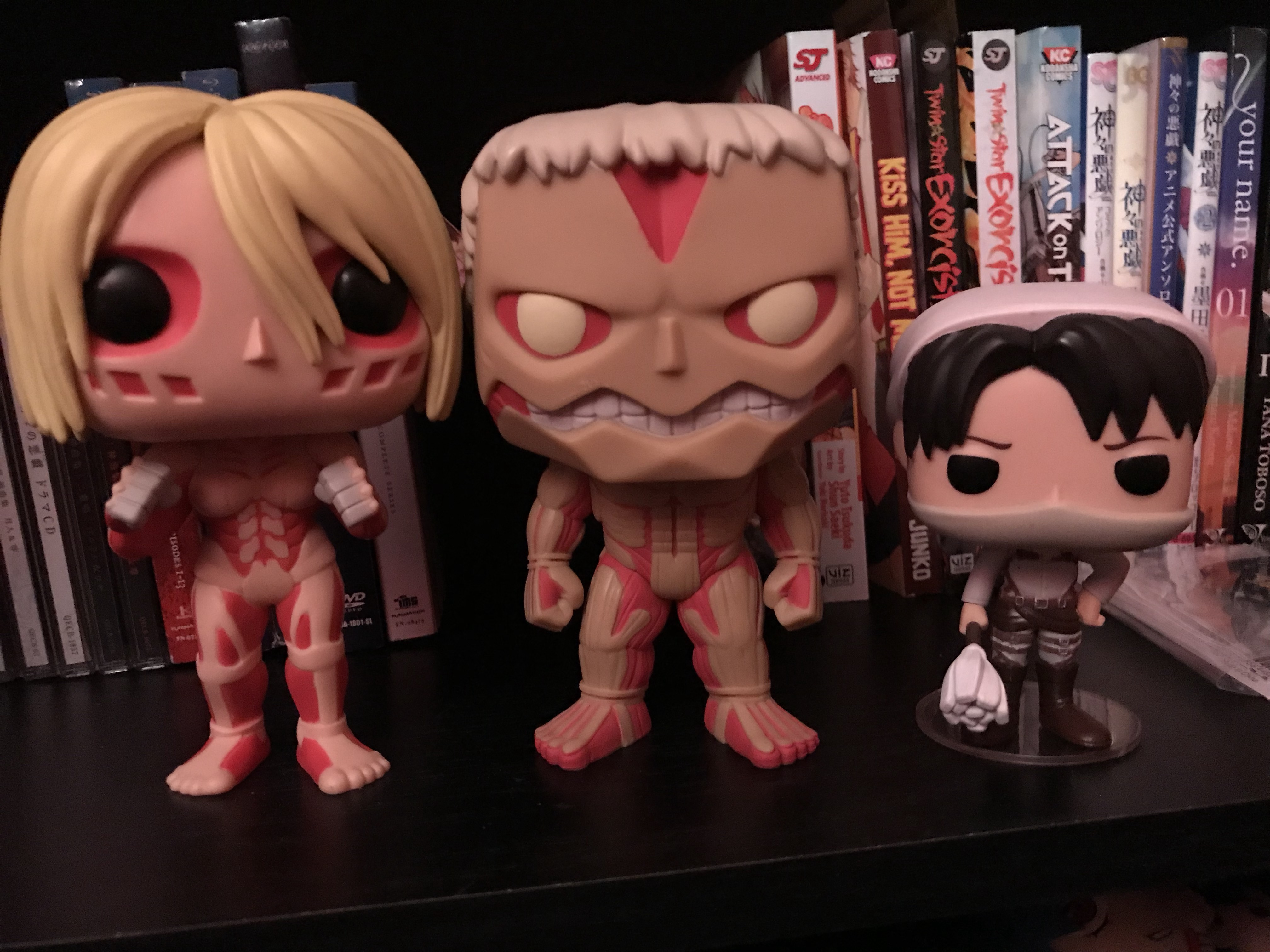 Funko Pop Attack on Titan L/'Attaque des Titans